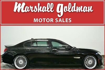 2014 BMW 7-Series  2014 BMW B7 ALPINA LWB Black/Black only 20,900 miles