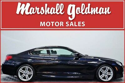 2015 BMW 6-Series Base Coupe 2-Door 2015 BMW 650i XDrive in Carbon Black  17,200 miles M Sport package
