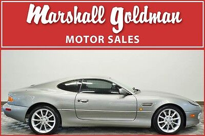 2001 Aston Martin DB7  2001 Aston Martin DB7 Vantage Skye Silver/Charcoal touchtronic only 4700 miles