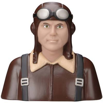 NEW Great Planes 1/4 WWI German Pilot Brown GPMQ9110