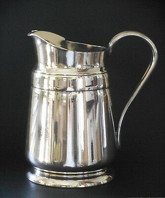 Vintage Silverplate Water Pitcher Shady Oaks Country Club Reed & Barton