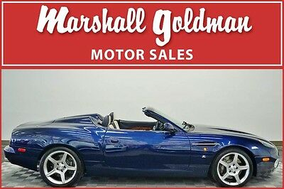 2003 Aston Martin DB7  2003 Aston Martin DB AR1 roadster 6 speed manual #20 of 100 cars 3,700 miles