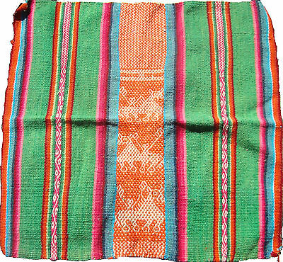 Old, Andes, Indian Woman Ceremonial Awayo, Aguayo Antique, Hand Made
