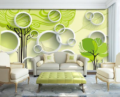 Details about  /3D Fruit Tree 365 Wall Paper Wall Print Decal Wall Deco Indoor AJ Wall Paper