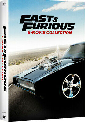 Fast And Furious 8-movie Collection [New DVD] Boxed Set