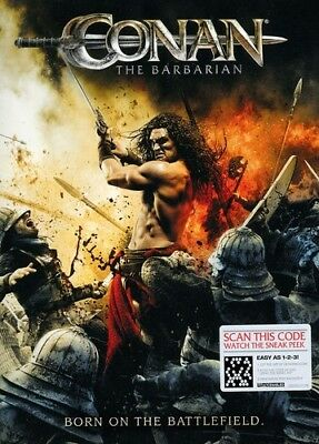 Conan the Barbarian (2011) [New DVD] Ac-3/Dolby Digital, Dolby, Subtitled, Wid