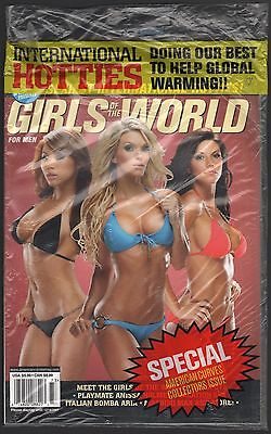 Fall 2007 American Curves Magazine Girls Of The World, Sealed
