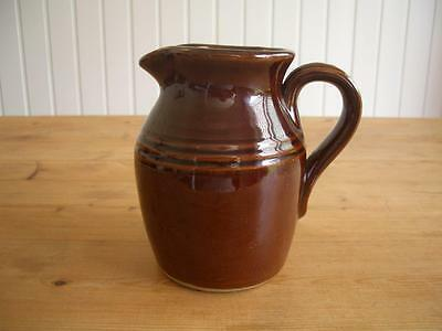 Pearsons of Chesterfield - Brown Retro 1 Pint Jug