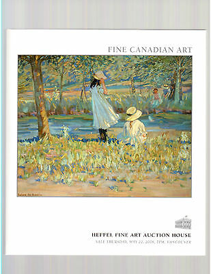 Heffel Fine Art Auction House May 22, 2008 Auction Catalog + Prices Realized !!