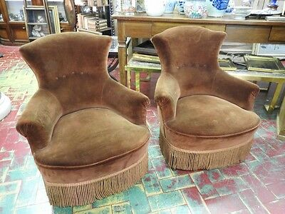 Pair Of Ancient Chairs Armchairs End 800 Stunning The Sagomee