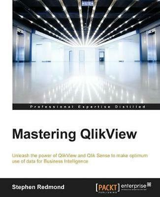 Mastering QlikView by Stephen Redmond (English) Paperback Book Free Shipping!