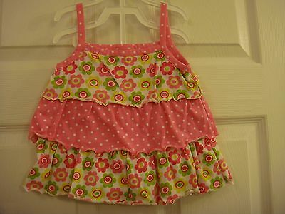 Baby Fisher Price Pink 2 Piece Summer Shorts Outfit Size 2T