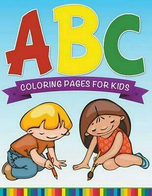 abc coloring pages for kids super fun edition by speedy publishing llc englis