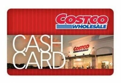 $300 Costco Cash Card Gift Card - Free Shipping and No Expiration Date