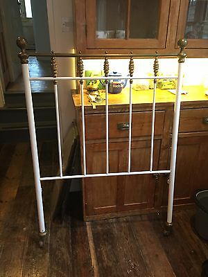 Victorian Antique Single Bed Iron