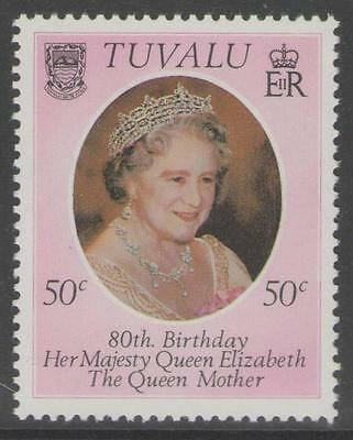 Tuvalu Sg148 1980 Queen Mother Mnh