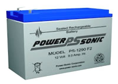 Battery Dynex Te685Avr,bp7.2-12 F1 Ps-1290F2 With F1