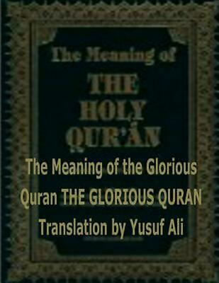 The Meaning of the Holy Quran by Abdullah Yusuf Ali (English) Paperback Book Fre