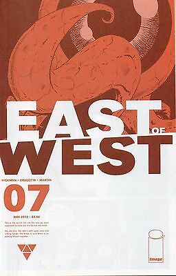 East Of West #7 (NM)`13 Hickman/ Dragotta (1st Print)