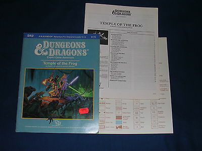 Dungeons & Dragons DA2 temple of the Frog D&D TSR