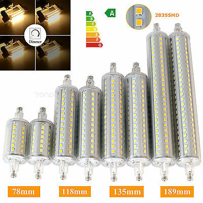 Dimmable R7S LED Flood Light J78 J118 J135 J189 Corn Bulb Replaces Halogen 2835