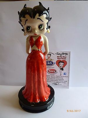 Wade Betty Boop Movie Star Red Dress Le 10 New Release