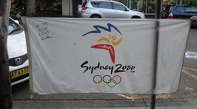 Hh4. 2000  Olympic  Games  Flag / Pennant
