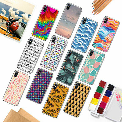 Etui Housse Coque Case Cover Thin Pattern TPU Silicone For iPhone 5 SE 6s 7 Plus
