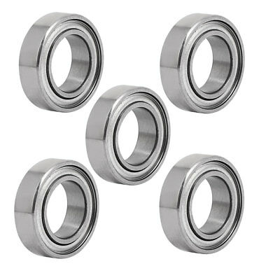 MR148ZZ 8mmx14mmx4mm Double Shielded Deep Groove Radial Ball Bearing 5pcs