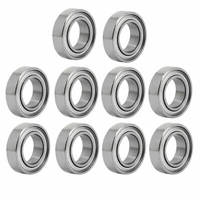 MR148ZZ 8mmx14mmx4mm Double Shielded Deep Groove Radial Ball Bearing 10pcs