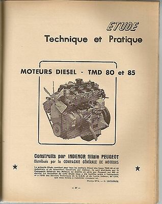 Revue Technique Automobile 171 Rta 1960 Moteur Indenor Tmd Nsu Wankel Rotatif