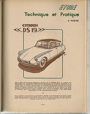 Revue Technique Automobile 134 Rta 1957 Citroen Ds19 Ds 19 (2/3)
