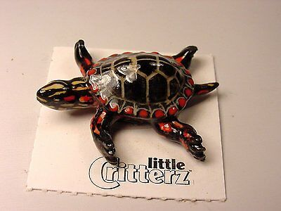 "Little Critterz - LC325 ""Raphael"" Painted Turtle"