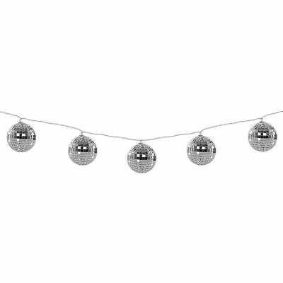 Fizz Creations Battery Powered Disco Ball Multi-coloured LED String Lights