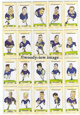 TC0002 - Rugby World Cup 1995 - Scotland - Daily Telegraph Full Set of 26 cards