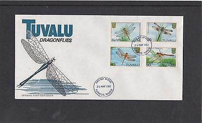Tuvalu 1983 Dragonflies First Day Cover FDC