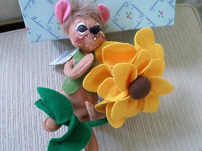 """Annalee """"Sunflower Mouse"""" 2014 NWT"""