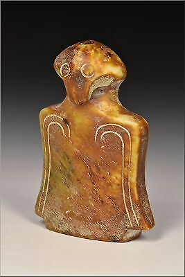 Chinese Han Dynasty Carved Jade Figure / Animal