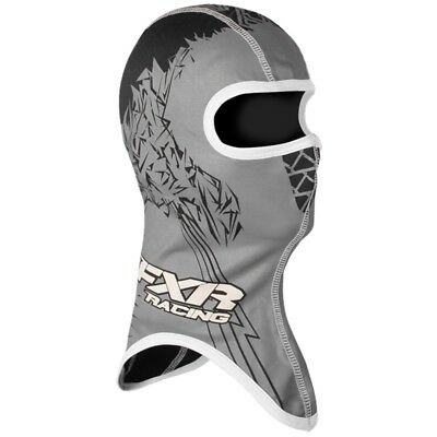 FXR Shredder Balaclava Helmet Facemask - Size Large - Black & White - 2712.10013