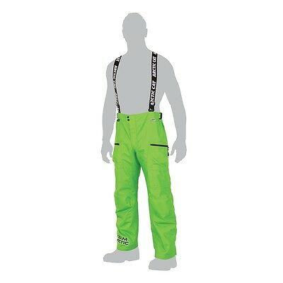 Arctic Cat Men's Uninsulated Team Arctic Snowmobile Pants Lime Green - 5260-38_