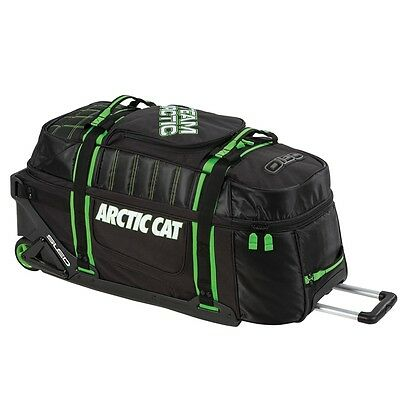 Arctic Cat OGIO Team Arctic Roller Bag 7500 cubic inches Black & Green 5262-900