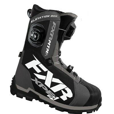 FXR Men's Elevation Lite Boa Focus Boots - Charcoal & Black - 16501.201__