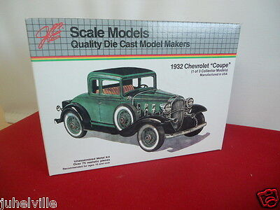 scale models 1932 Chevrolet coupe diecast NOS