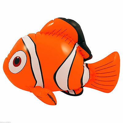 Jumbo Inflatable Fish Nemo Beach Pool Garden Outdoor Fun Toys New