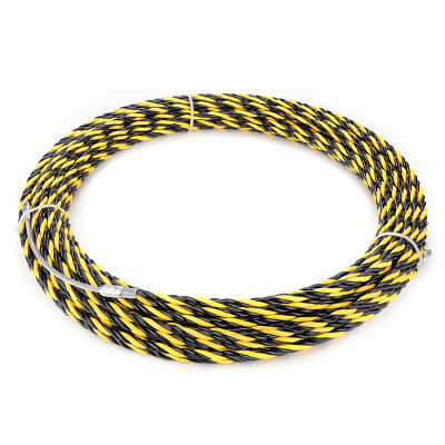 98 Feet (30M) Polyester Fish Tape Dia 0.24in (6mm) Electrical Wire Threader