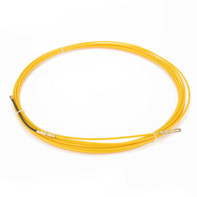 33 Feet (10M) Glass Fiber Fish Tape Dia 0.12in (3mm) Electrical Wire Threader