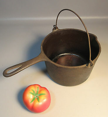 Wagner Ware Sidney O French Deep Fat Fryer Cast Iron Kettle W/ Handle 1265