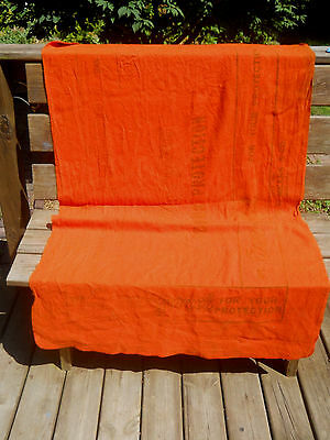 Vintage Mechanics Fender Cover Protector-COVER-GARD-FW Means & Co-Orange Fabric