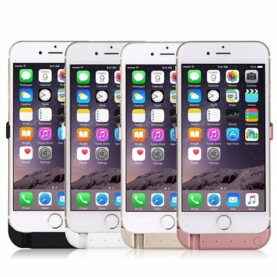 10000mAh Battery Case External Power Charger Charging Cover For iPhone 6S Plus X