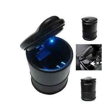 New Auto Accessories illuminated Ash Bin Car Ashtray Led Light Easy Clean CX